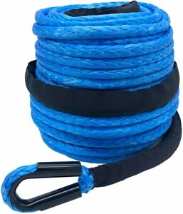 3 8 X 95 20500lbs Synthetic Winch Line Cable Rope For Off Road Vehicle Suv