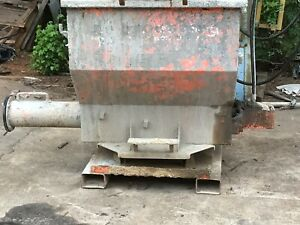 Grout Hog Hydraulic Delivery System