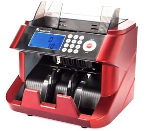 Carnation Bank Grade Bill Cash Counter Fast User friendly Money Counting Machine