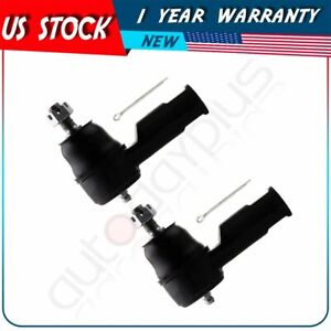 New Es3377 2pcs Front Tie Rod End Steering Parts For Kia Spectra Hyundai Tiburon
