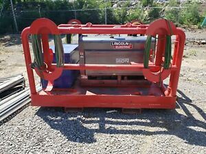 2017 Lincoln 300 Mp Welder 325 Hrs And Heavy Duty Skid Pipeline Pipeliner 300d