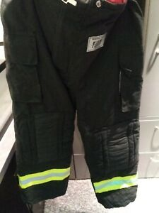 Morning Pride Turnout Gear Pants 44x31 With Suspenders