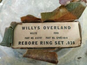 Ford Gpw Willys Mb Wwii Military Jeep Original Part
