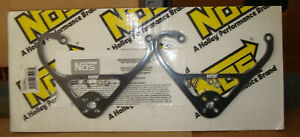Nos 16515nos Nitrous Solenoid Bracket Pair For Use With 4150 Carburetor