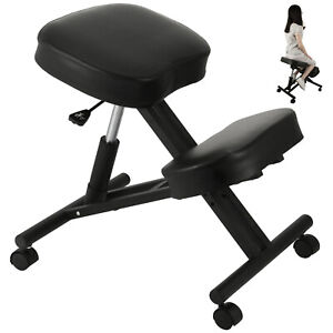 Ergonomic Rolling Kneeling Posture Chair Adjustable Height Office Seating