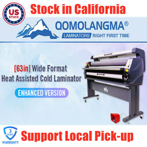 Usa 63in Enhanced Version Heat Assisted Cold Laminator Wide Format Laminating