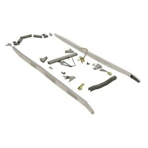 Speedway U weld Ford Model A Frame Rail Assembly Kit