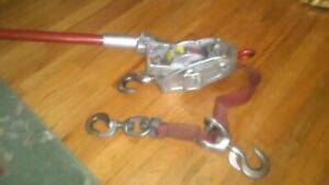 Lug All Come Along Double Rigged 1500lbs 3000 Lb Capacity Hang Freely Don t Jam