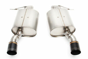 Dinan Stainless Exhaust W Black Tips For Bmw 335i 2011 07 Xdrive 2011 09 335xi