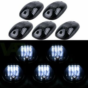 5x Top Roof Running Cab Marker 16 White Led Lights For Dodge Ram 2500 3500 03 18