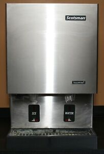 Scotsman Mdt5n25a 1j Touch Free Air Cooled Ice Machine Water Ice Dispenser