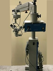 Zeiss Opmi Md Ophthalmic Surgical Microscope W S3 Stand