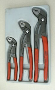 Klipex Adjustable Gripping Pliers Made In Germany Set Of 3