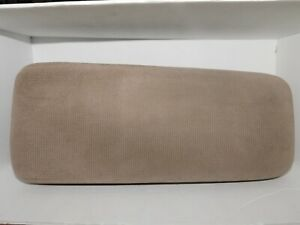 Ford Explorer Ranger Center Console Arm Rest Lid Pad Cover Tan Fabric 91 01