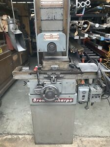 Brown Sharpe 510 Micromaster Hand Operated Surface Grinder