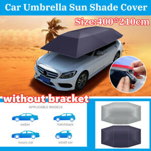 Universal Portable Antiuv Protection Car Umbrella Tent Roof Cover Without Braket
