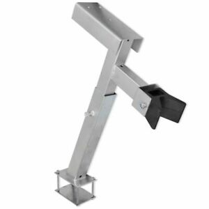 Boat Trailer Winch Mount Post Tall Galvanized Bow Stand Height 2 2 4 Adjut