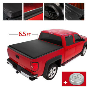 Soft Roll Up Tonneau Cover For 94 02 Dodge Ram 1500 2500 Truck 6 5ft Short Bed