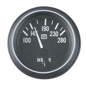 Stewart Warner 284j 2 1 16 Heavy Duty Electric Water Temperature Gauge
