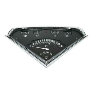 Classic Instruments Tf01b 1955 59 Chevy Truck Gauge Set Black Face