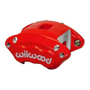 Wilwood 120 11874 rd D154 Dual Piston Floater Caliper Gm Red