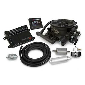 Holley Efi 550 406k Efi 4bbl Throttle Body Fuel Injection Master Kit
