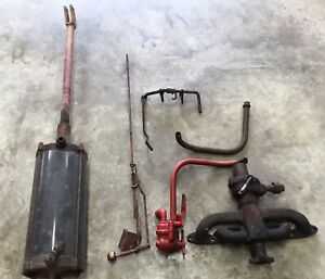 Farmall Ih A Tractor Exhaust Vacuum Lift Assembly