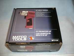 Matco Tools Mt2120 3 8 Impact Wrench Air New In Box Free Shipping
