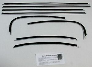 1969 1972 Pontiac Gto Lemans 2 Door Hardtop Replacement 8 Pcs Felt Kit Gt138r