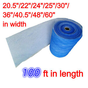Msfilter 18 Gram Paint Spray Booth Exhaust Filter Roll 100 Ft 25 30 48 60