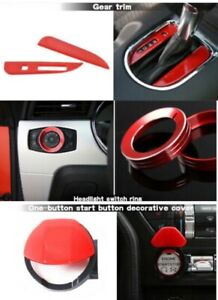 Ford Mustang Interior Trim Accessories Red