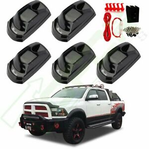 5x Led For 2017 2019 Ford F250 F350 Cab Marker White Roof Running Light switch