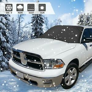 Magnetic Windshield Snow Cover Ice Protector For Truck 94 X 57 4 Inches