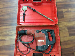 Hilti Te76 atc Hammer Drill Te76 Atc With Hilti Case Tested And Works