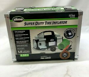 Slime Pro series Super Duty Tire Inflator New