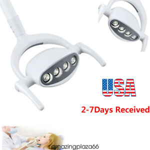 15w 4 Led Dental Oral Oprating Exam Cold Light Lamp For Dental Chair Unit Usa A
