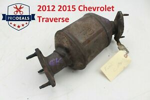 2012 2015 Chevrolet Traverse Catalytic Converter Front Oem