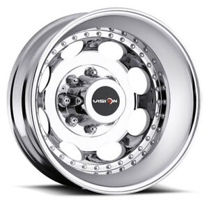 Vis hd 181z Dually 19 5 Inch 8x165 1 4 Wheels Rims 19 5x6 75 102mm Machined