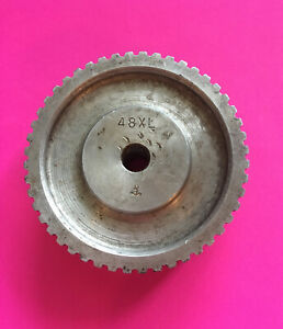 used 48xl aluminum Synchronous Drive Pulley free Shipping