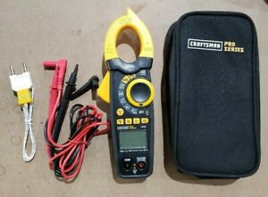 Craftsman Proseries Dt3369t bt 1000a Ac dc True Rms Clamp Meter 3419745 New