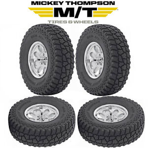 4 New Mickey Thompson Baja Atz P3 Tires All Terrain 35x12 50r20 Load Range E