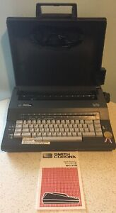 Excellent Shape Smith Corona Spell Right Dictionary Sc110 Electric Typewriter