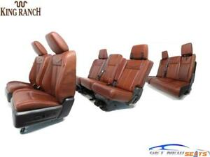Ford Expedition King Ranch Leather Seats Front Second Third Row 2009 2014