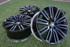 21 Factory Oem Land Rover Discovery Wheels Rims 21 Style 1012 L462 Hy32 1007 Ja