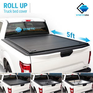 Waterproof Aluminum Retractable Tonneau Truck Bed Cover For 2019 2021 Ranger 5ft