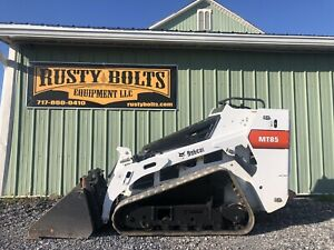 2015 Bobcat Mt85 Walk Behind Skid Steer Loader Mini Kubota Diesel Cheap Ship