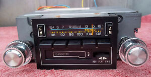 Ford Am fm Stereo Cassette Radio Mustang Cougar Torino Bronco Truck Works