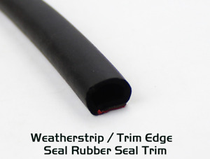 Weather Strip Car Parts Door Window Guard 16ft Rubber Seal D Shape Edge Trim