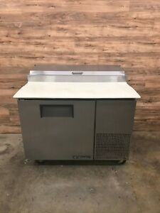 True Tpp 44 44 Pizza Prep Table With Refrigerated Base 115v