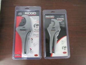 Ridgid Rc 2375 Ratchet 2 Pipe And Tubing Cutter And Ridgid Rc 1625 1 1 4 52f
